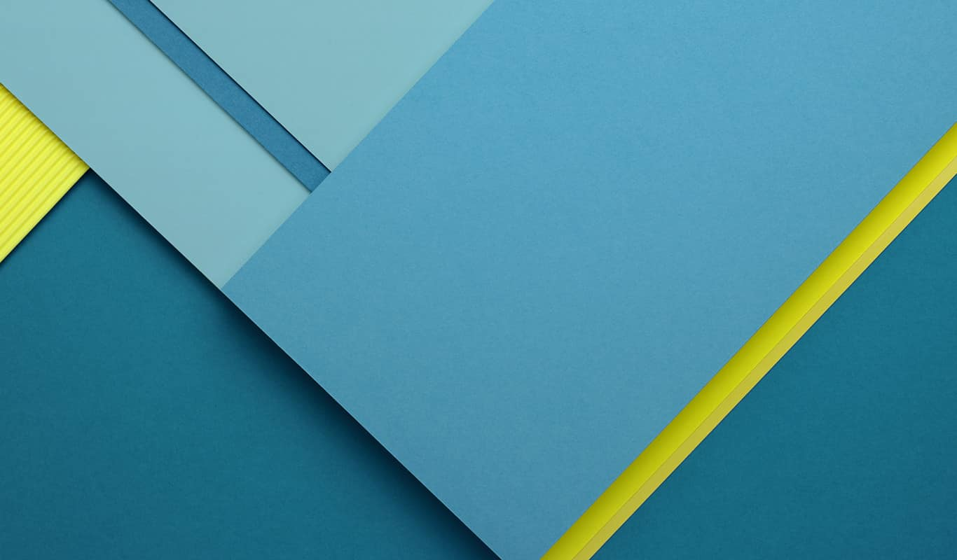 Here is the Material Design Default Wallpaper for 1366x800