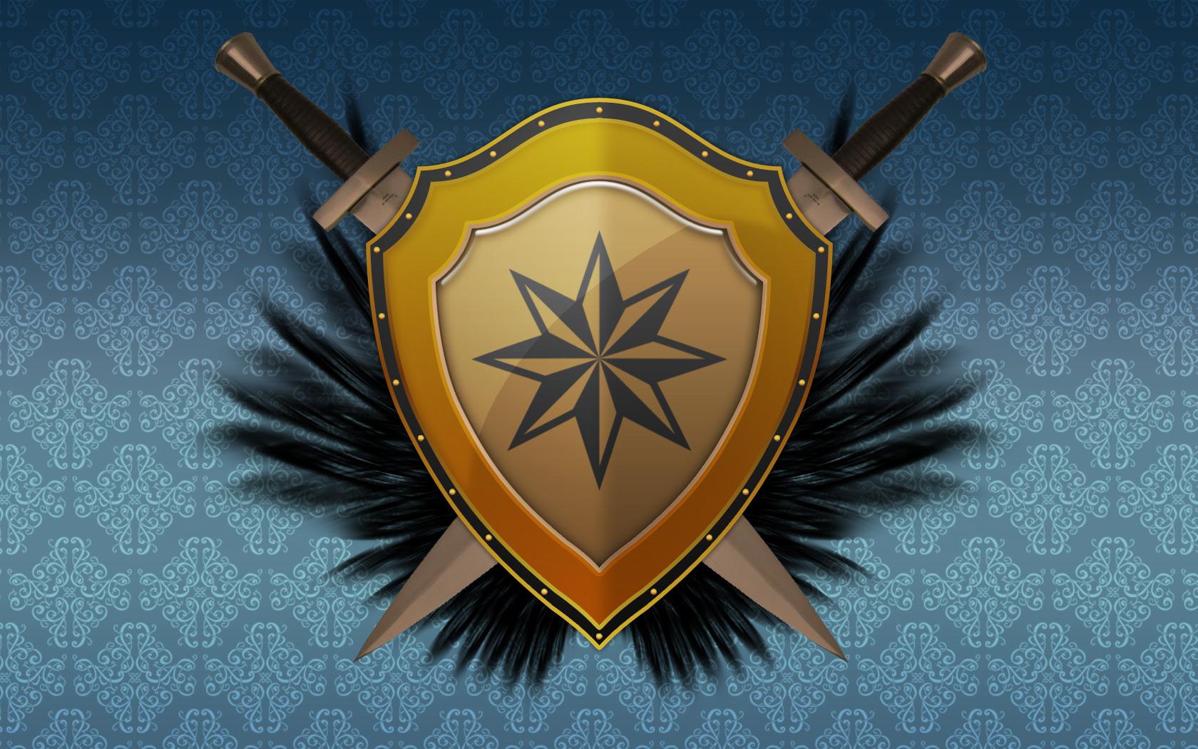 Designing A Sword Shield Wallpaper DevWebProDevWebPro 1680x1050