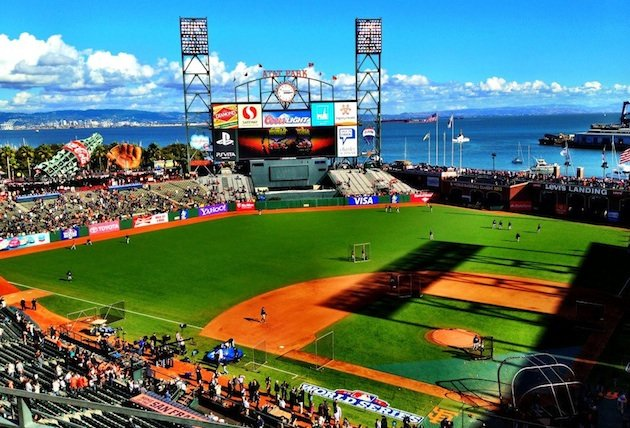 San Francisco Giants Stadium Wallpaper: At T Park Wallpaper