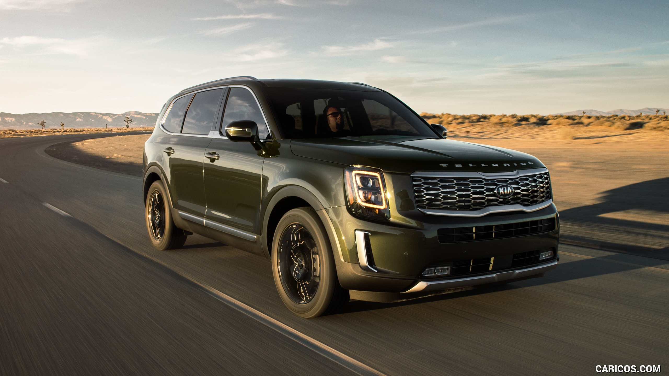 2020 Kia Telluride   Front Three Quarter HD Wallpaper 24 2560x1440