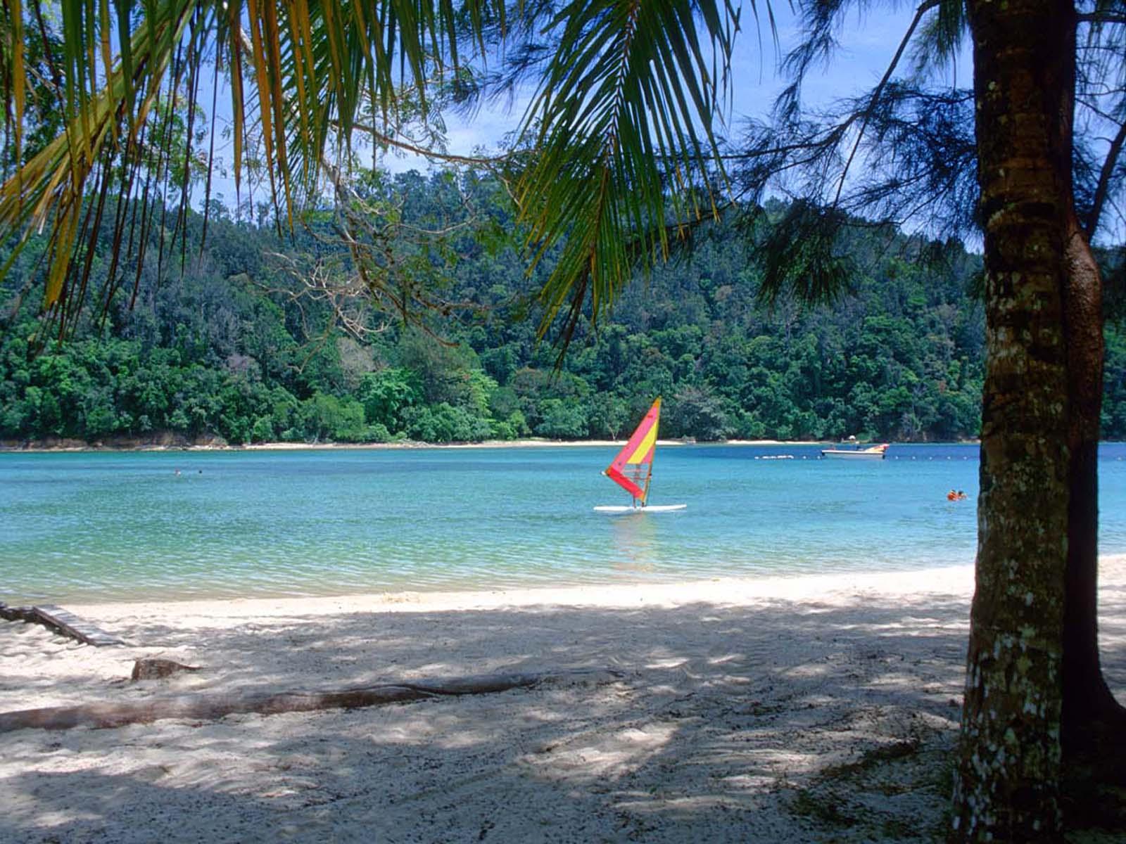 tropical beach wallpaper 120 - photo #21