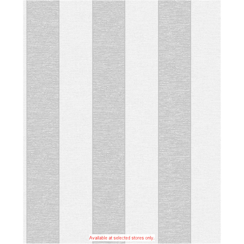 Fine Decor Two Tone Black Stripe Wallpaper