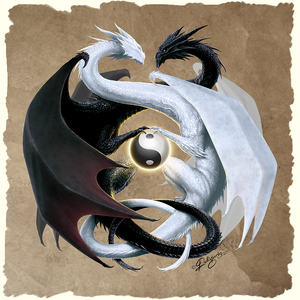 Yin Yang HD Wallpaper