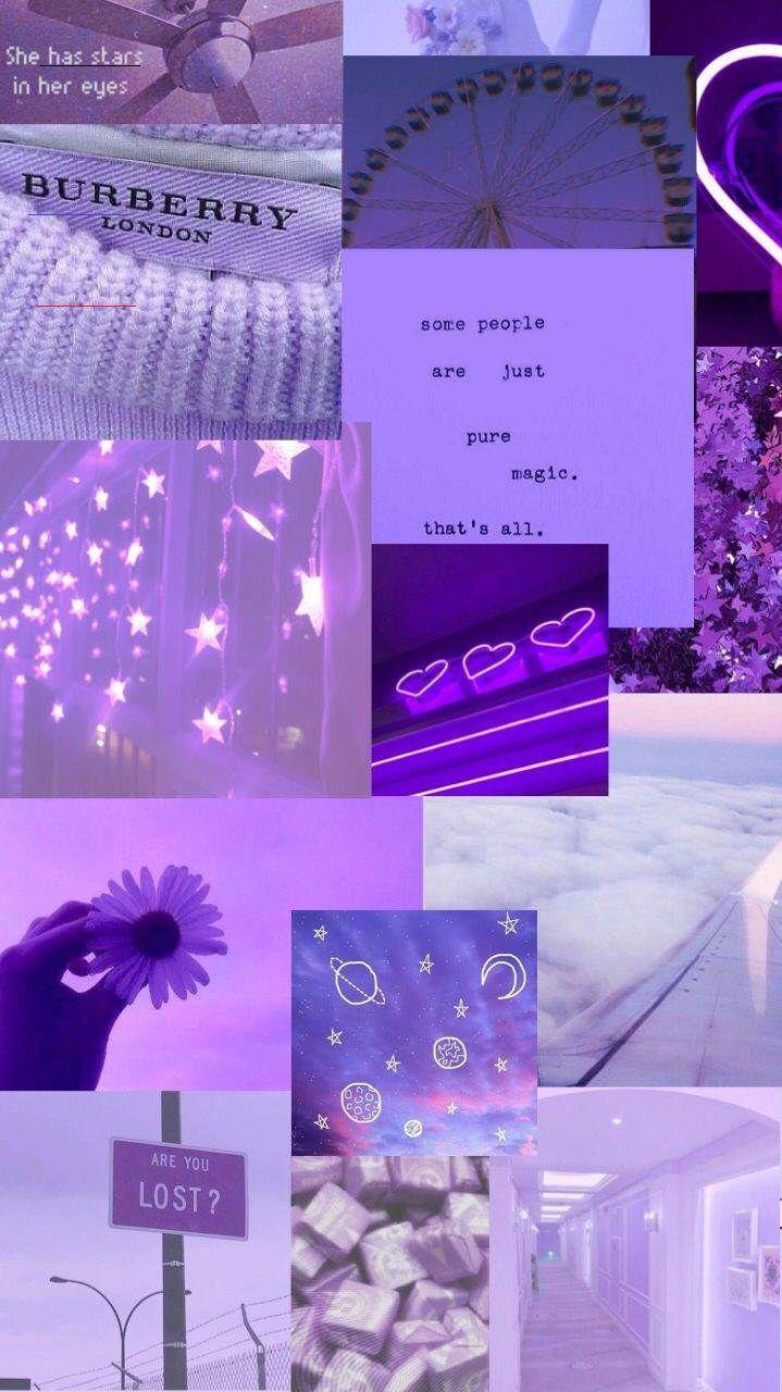 Aesthetic purple wallpapers aestheticwallpaperiphone Purple 719x1280