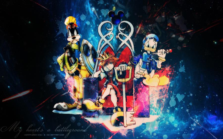 Kingdom Hearts Computer Wallpaper - WallpaperSafari