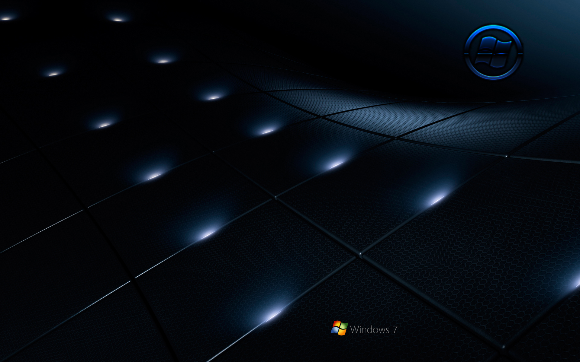 Windows 7 Black wallpaper by kubines 1920x1200