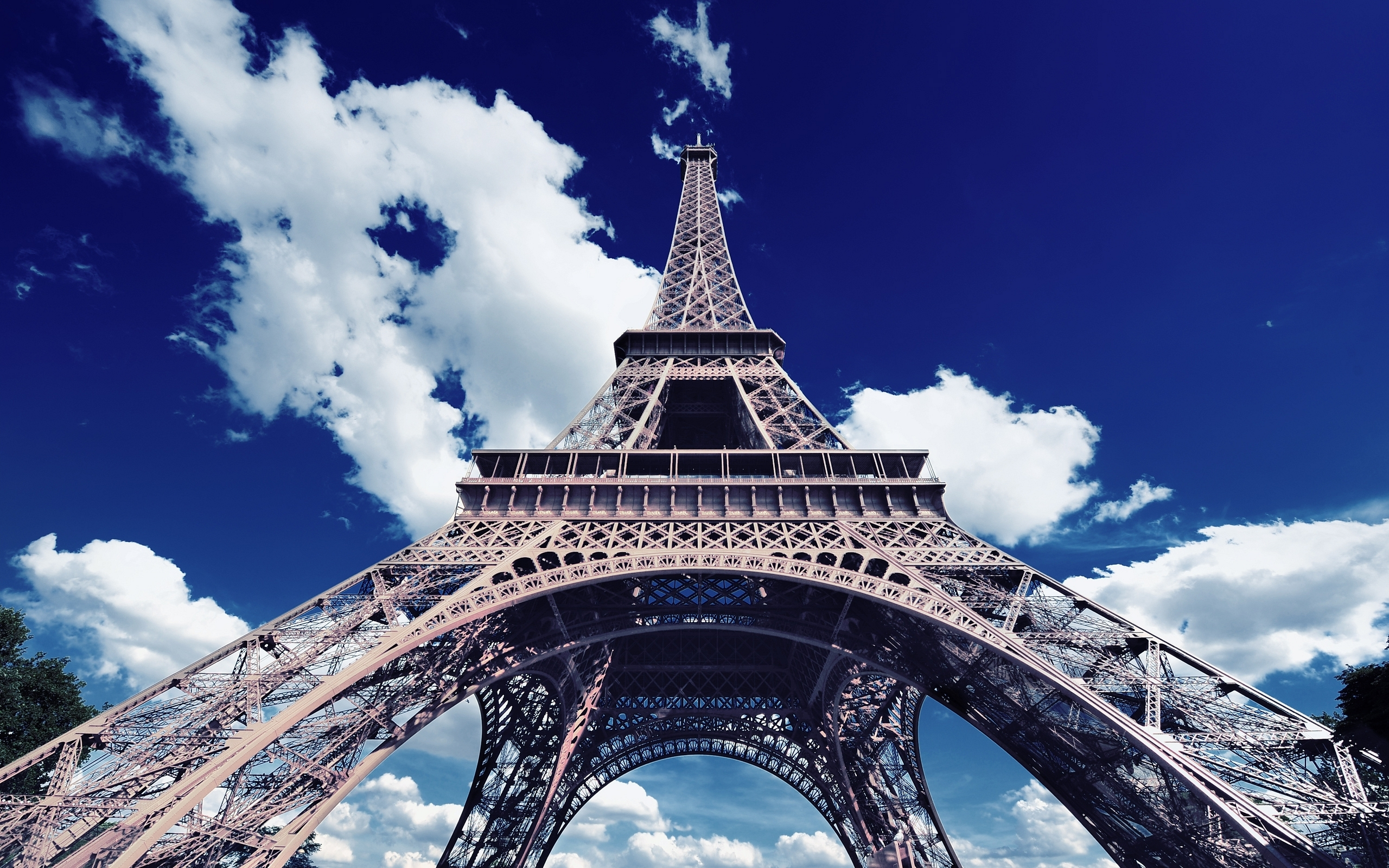Eiffel Tower Paris France Wallpaper 5 2560x1600