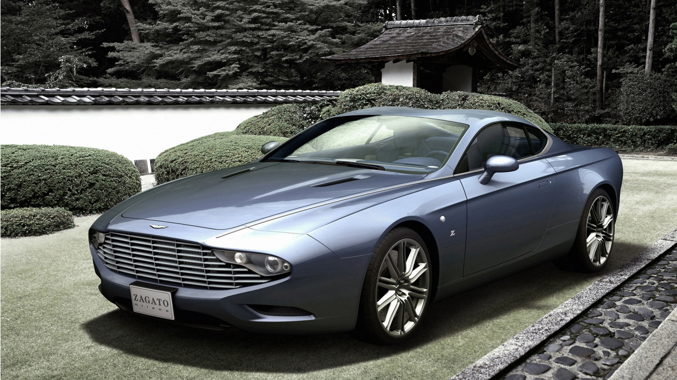 Zagato Aston Martin DBS Coupe Centennial Wallpaper HD Car Wallpapers 1366x768