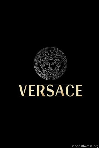 Versace Logo iPhone HD Wallpaper iPhone HD Wallpaper download iPhone 340x510