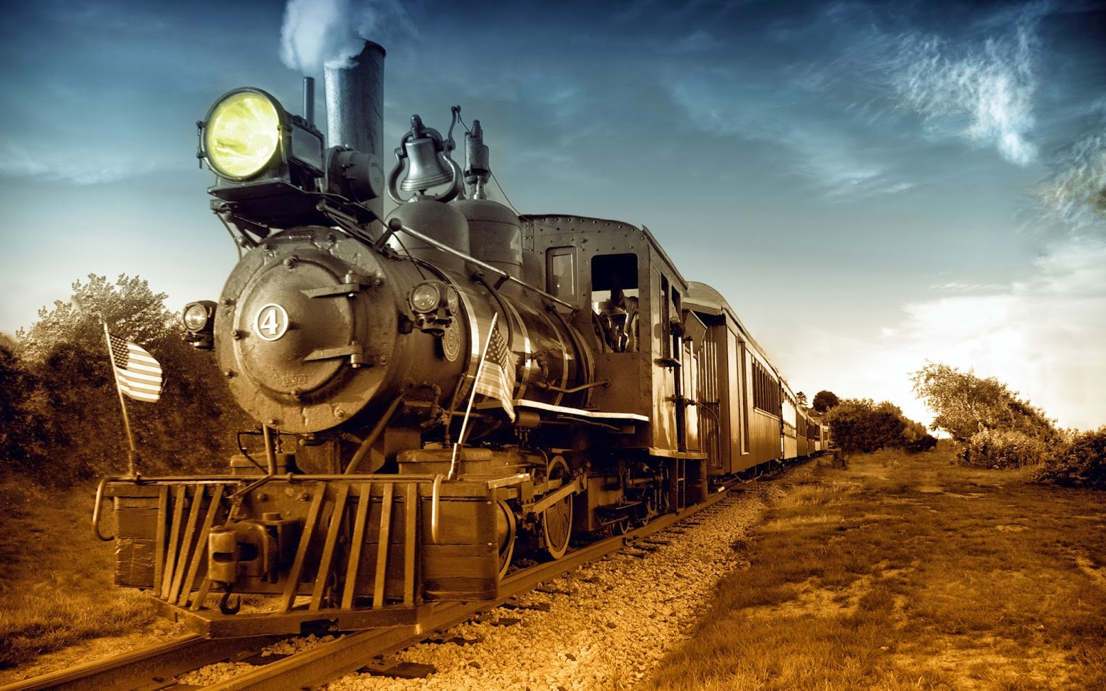 Old Train HD Wallpapers   Deep HD Wallpapers For You 1600x1000