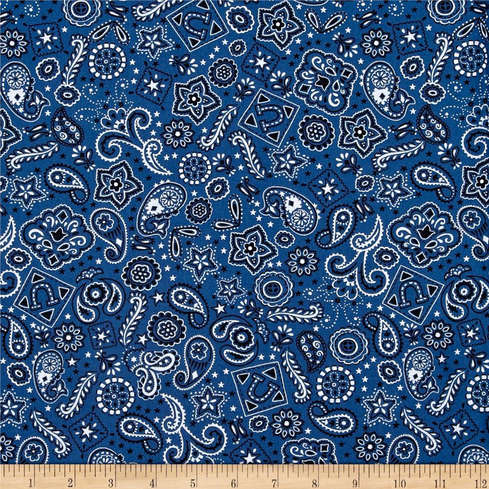 Bandana pattern wallpaper