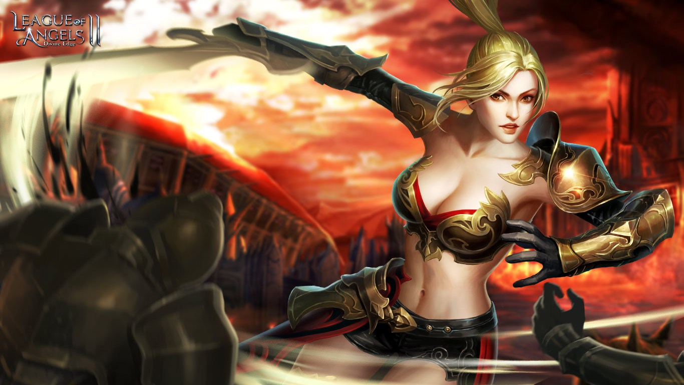 Free Download League Of Angels 2 New And Sexy Angels Wallpapers