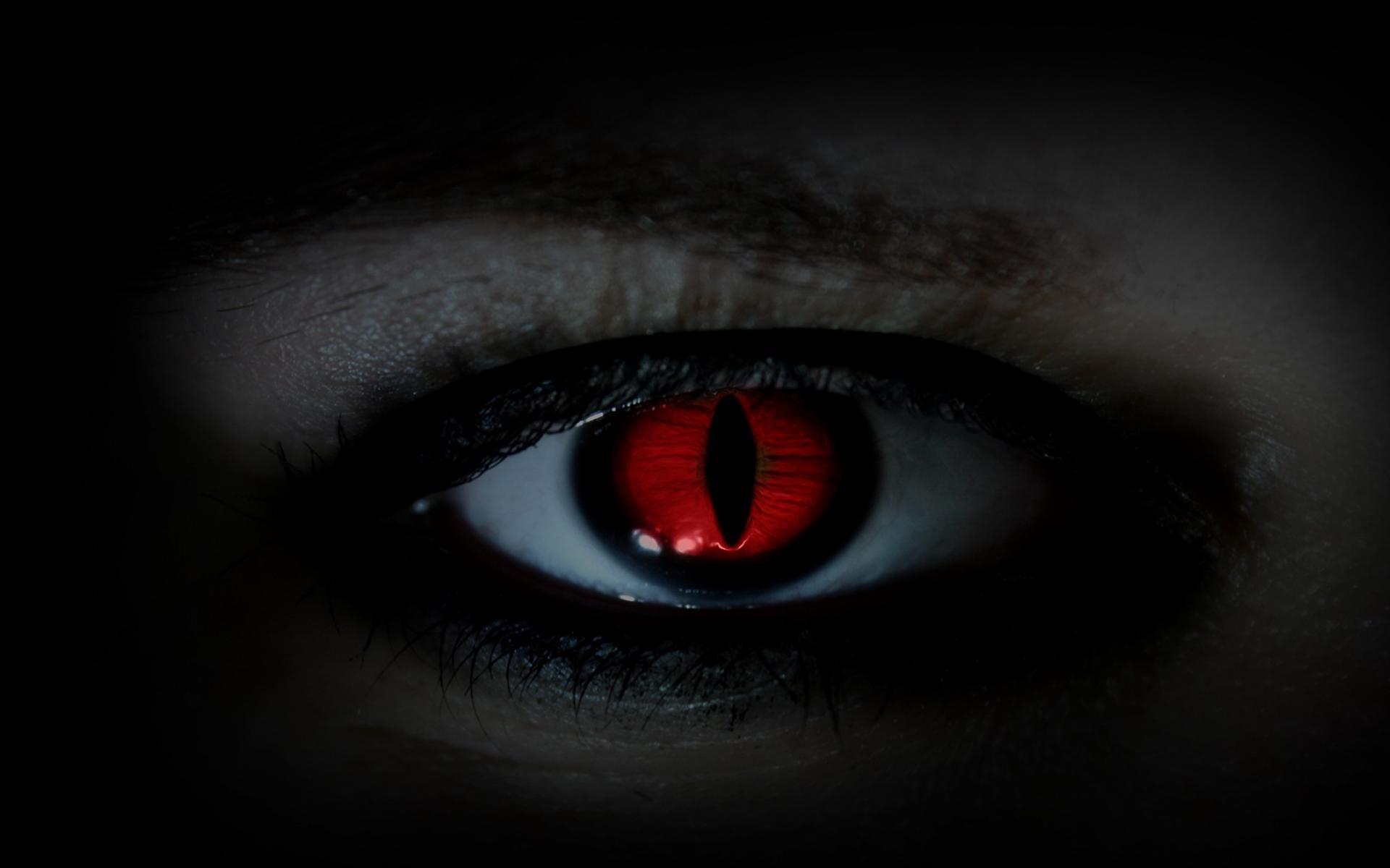 Eyes red devil wallpaper 36607 1920x1200