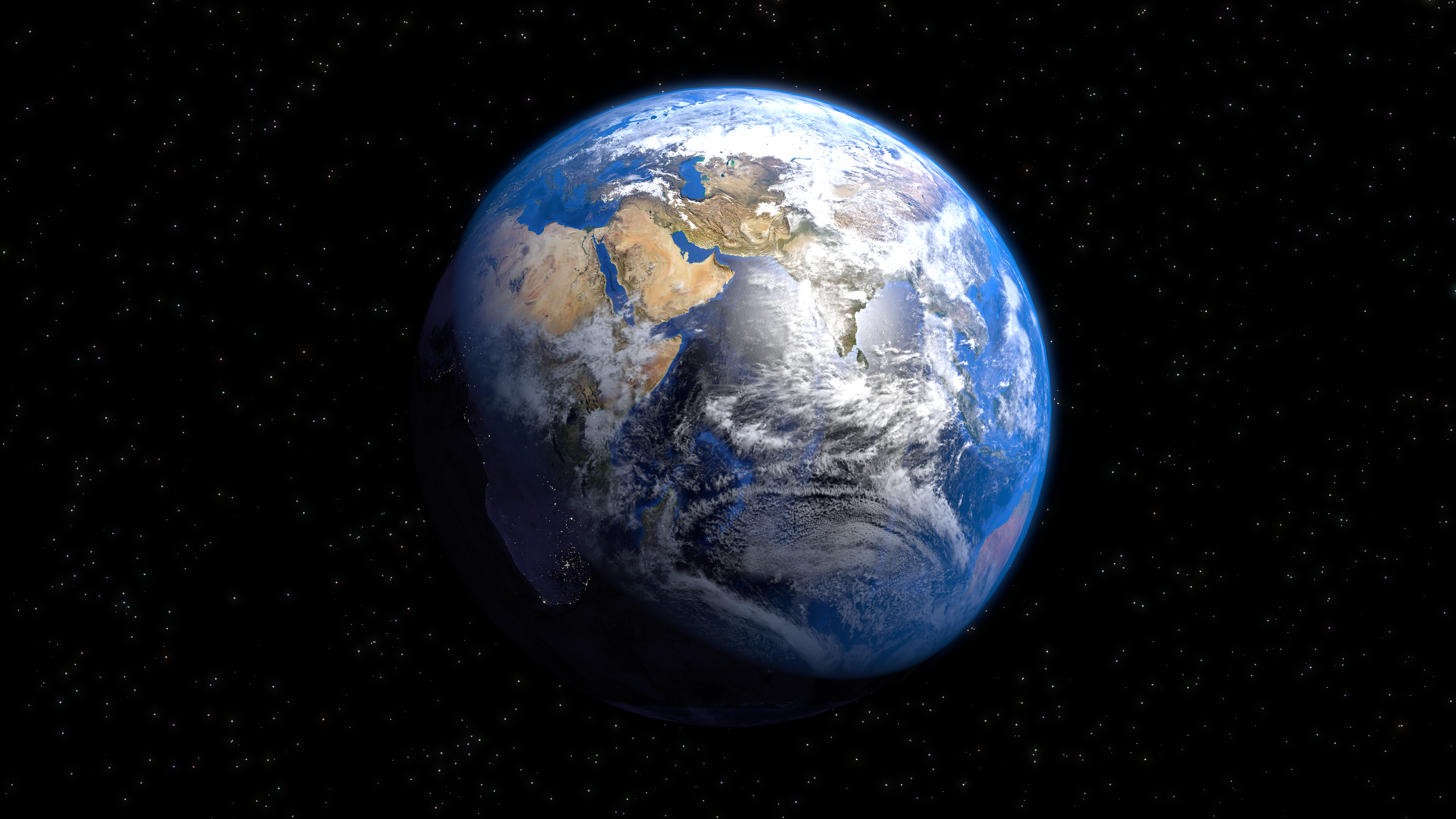 planet earth from space - HD3840×2160
