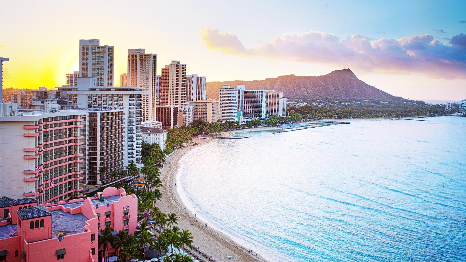 Best 52 Waikiki Wallpaper on HipWallpaper Waikiki Beach 1920x1080