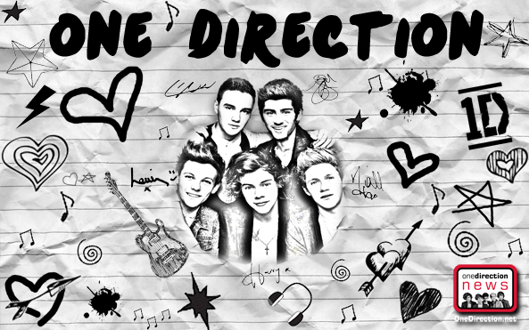 One Direction Wallpapers Harry Zayn Louis Liam and Niall 593x371