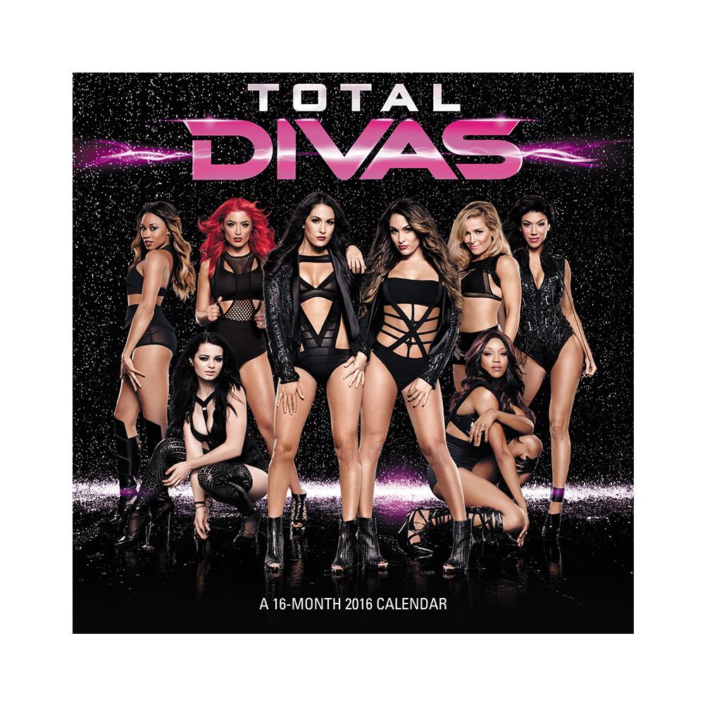 WWE Total Divas 2016 Wall CalendarWWE Total Divas 2016 Wall Calendar 1001x1001