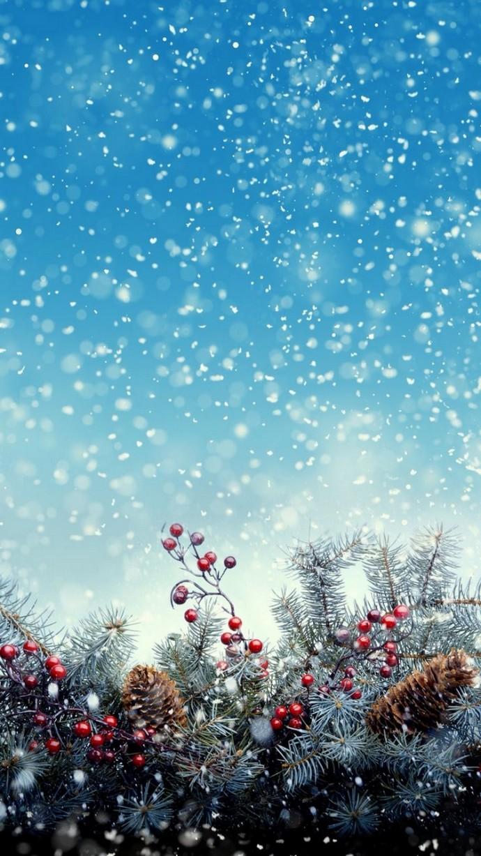 32 Striking Christmas iPhone Wallpaper Home screen n Lock 690x1227
