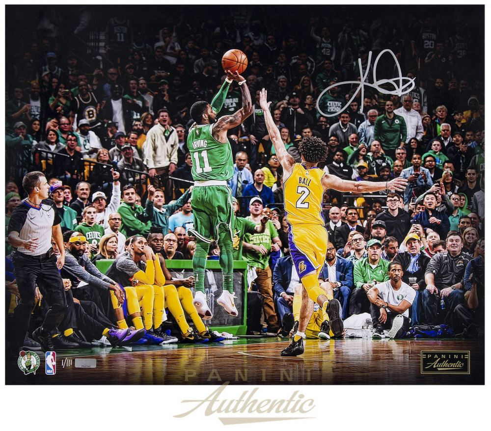 Kyrie Irving Signed LE Celtics Separation 16x20 Photo Panini COA 1000x878