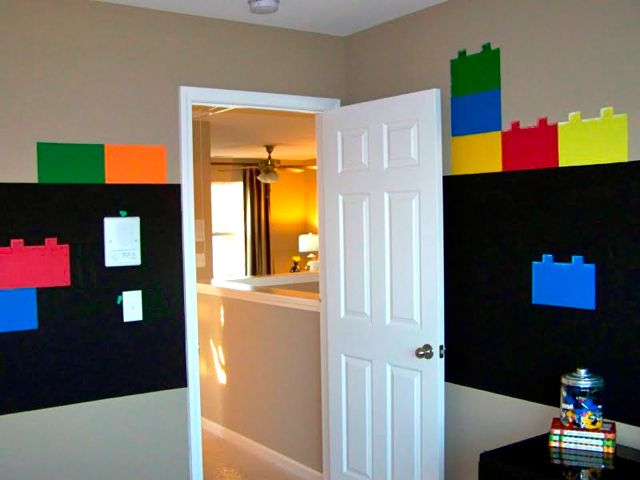 LEGO Room Wallpaper Face Painting Ideas 640x480
