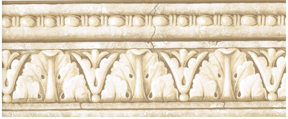 Architecture Tanned Crown Moulding Wallpaper Border Wall Decor eBay 1000x413
