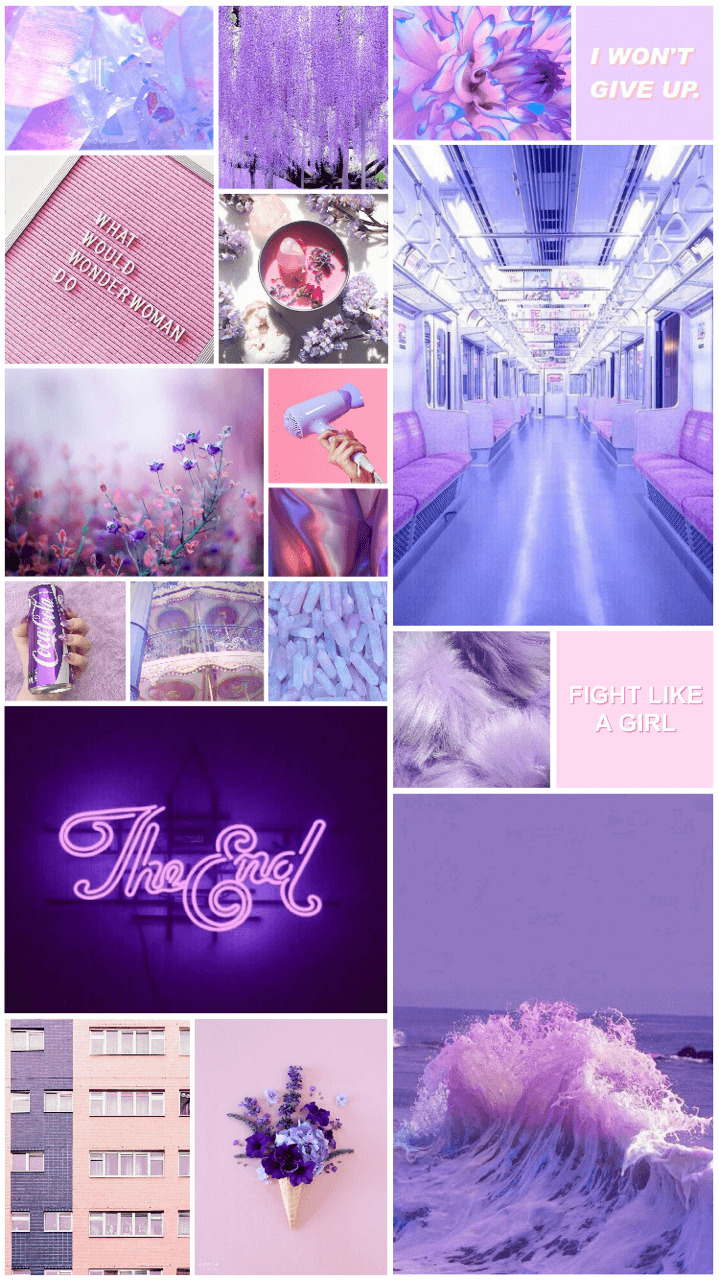 Aesthetic Collage Wallpapers 719x1280