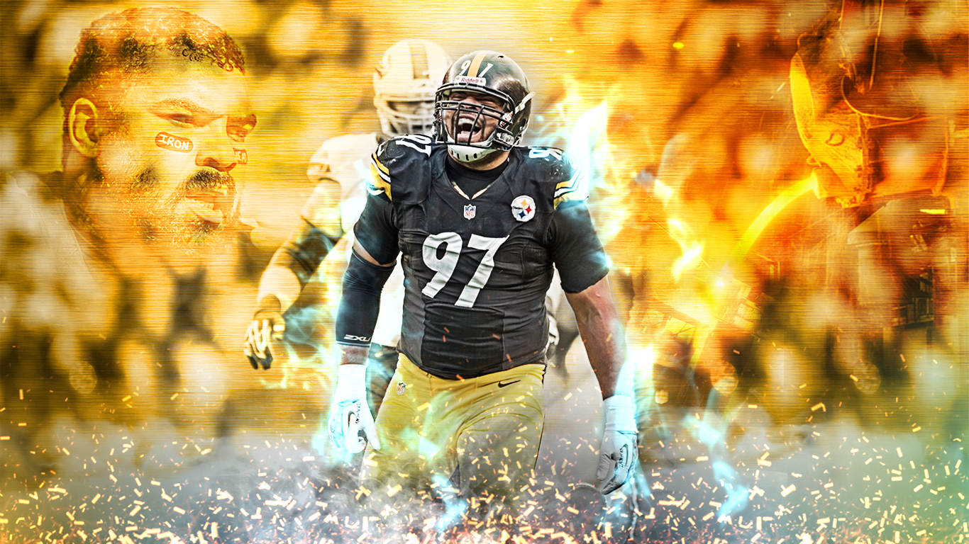 Cam Heyward Wallpaper 1366x768