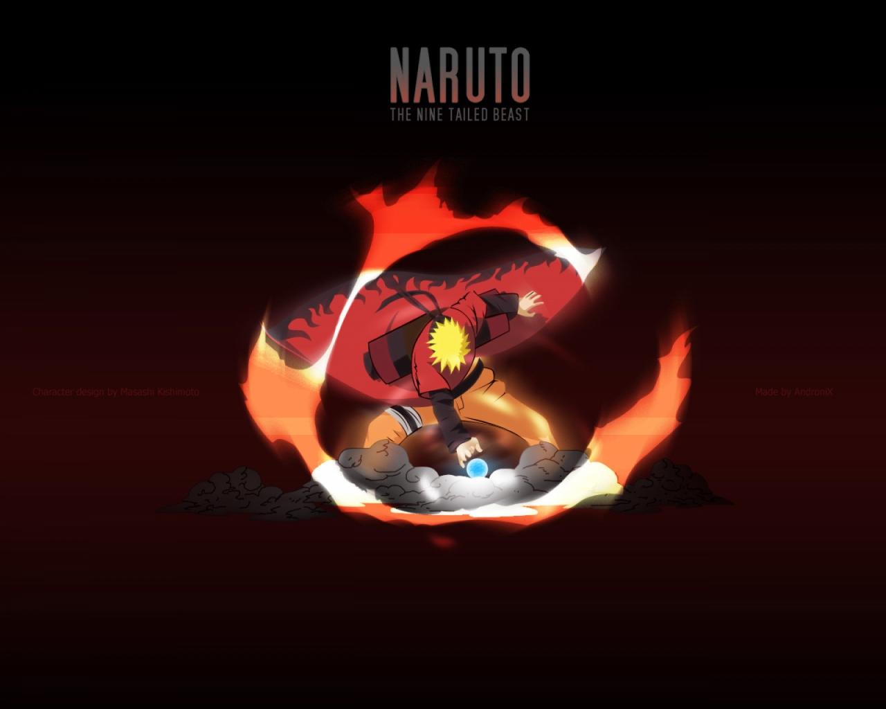 Naruto Uzumaki Wallpaper Modo Sanin 1280x1024