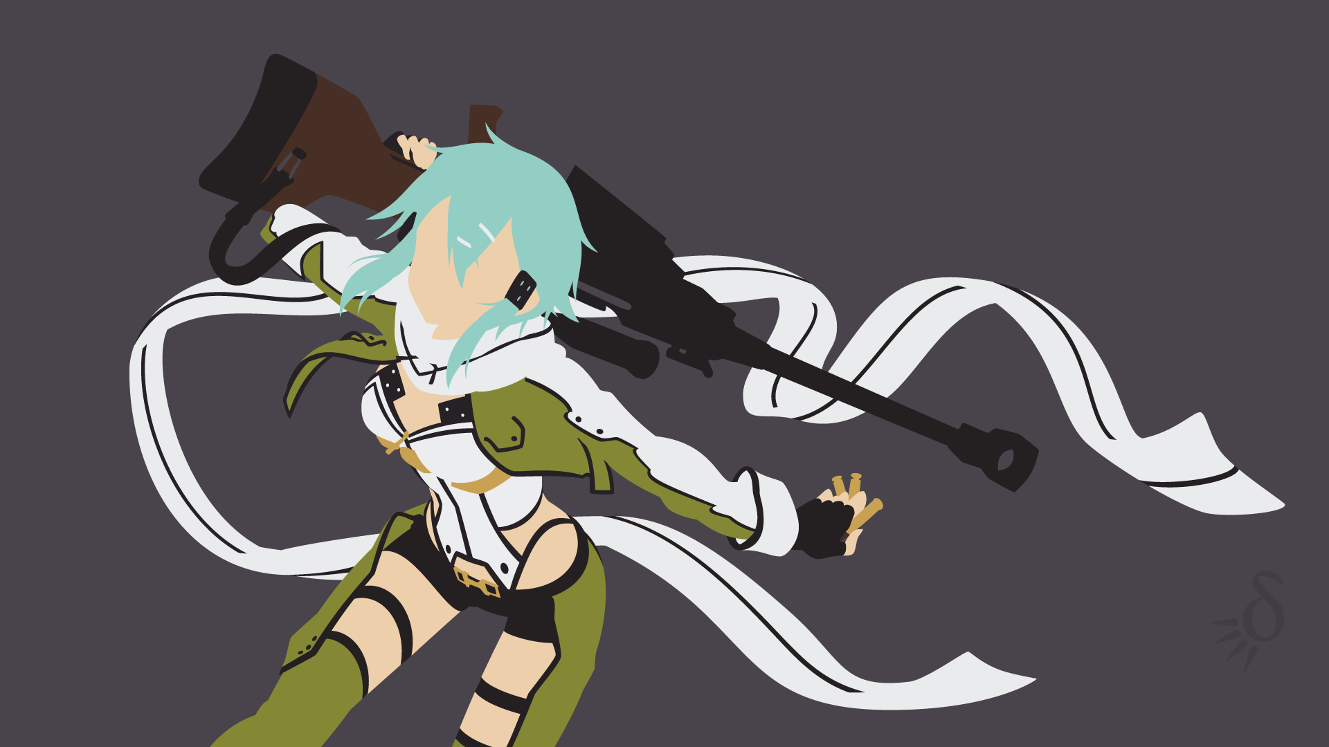 request sao ggo sinon by krukmeister fan art wallpaper movies tv 1920x1080