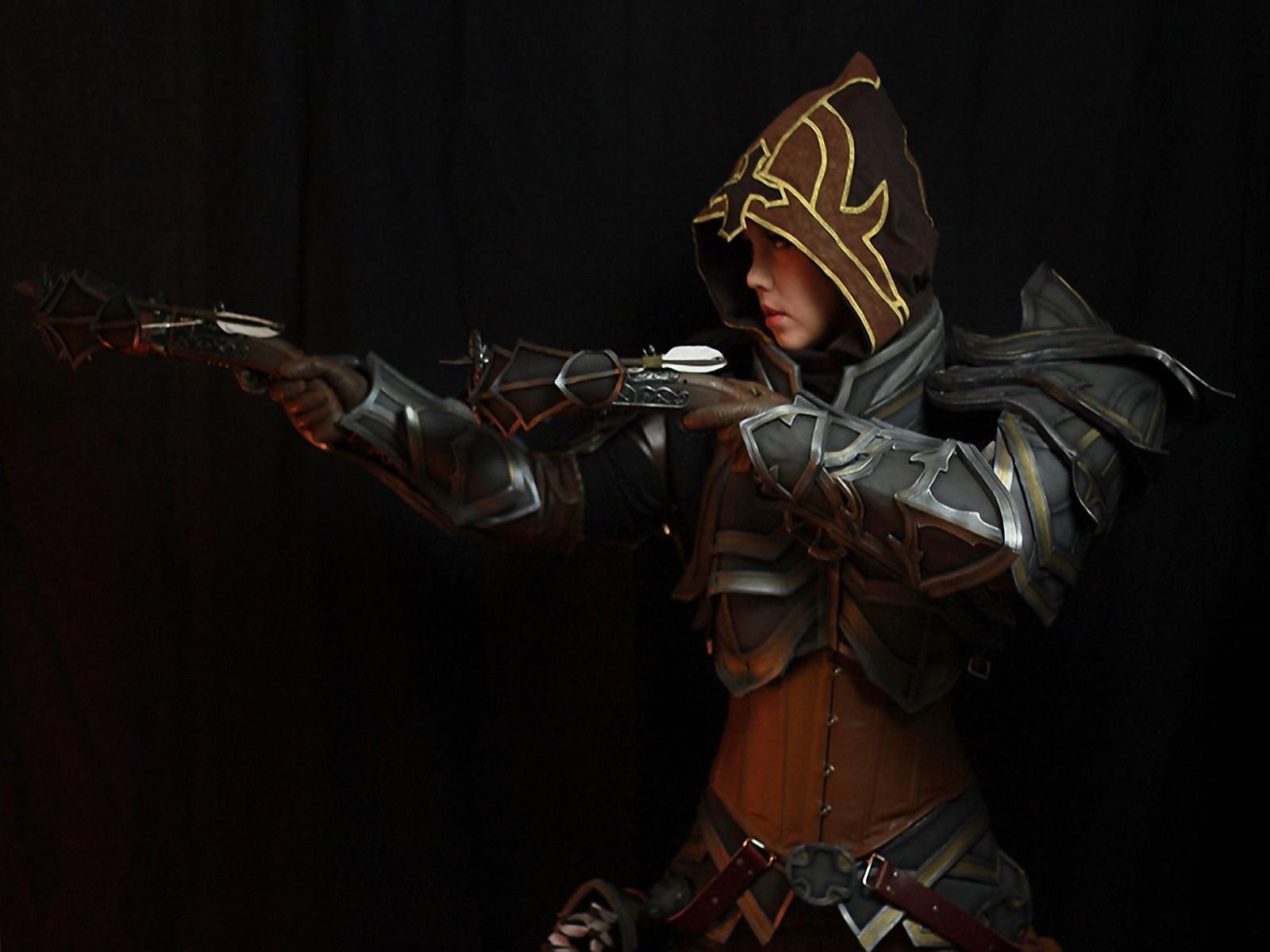 Free Download Games Cosplay Diablo Demon Hunter Diablo Iii