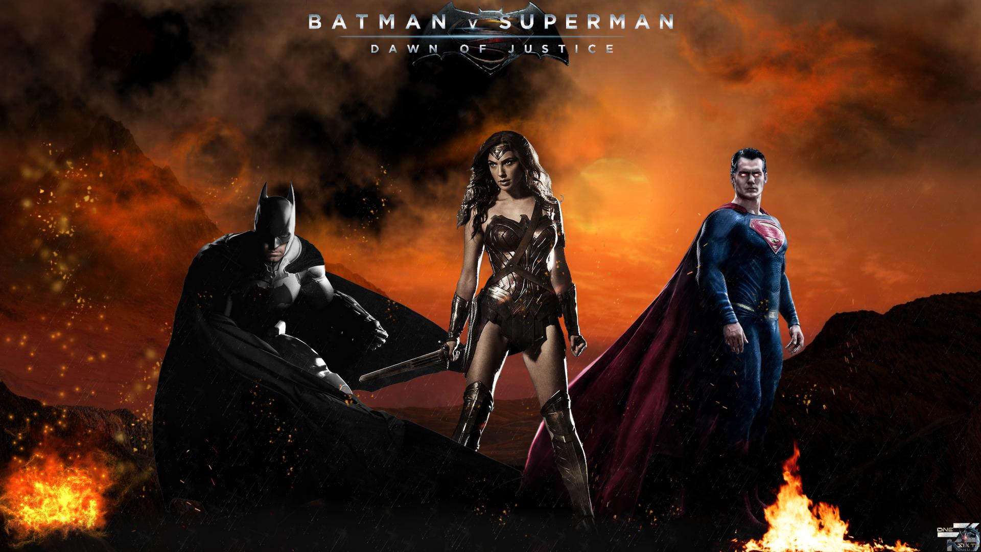 Batman V Superman   Dawn Of Justice   FanArt 1920x1080