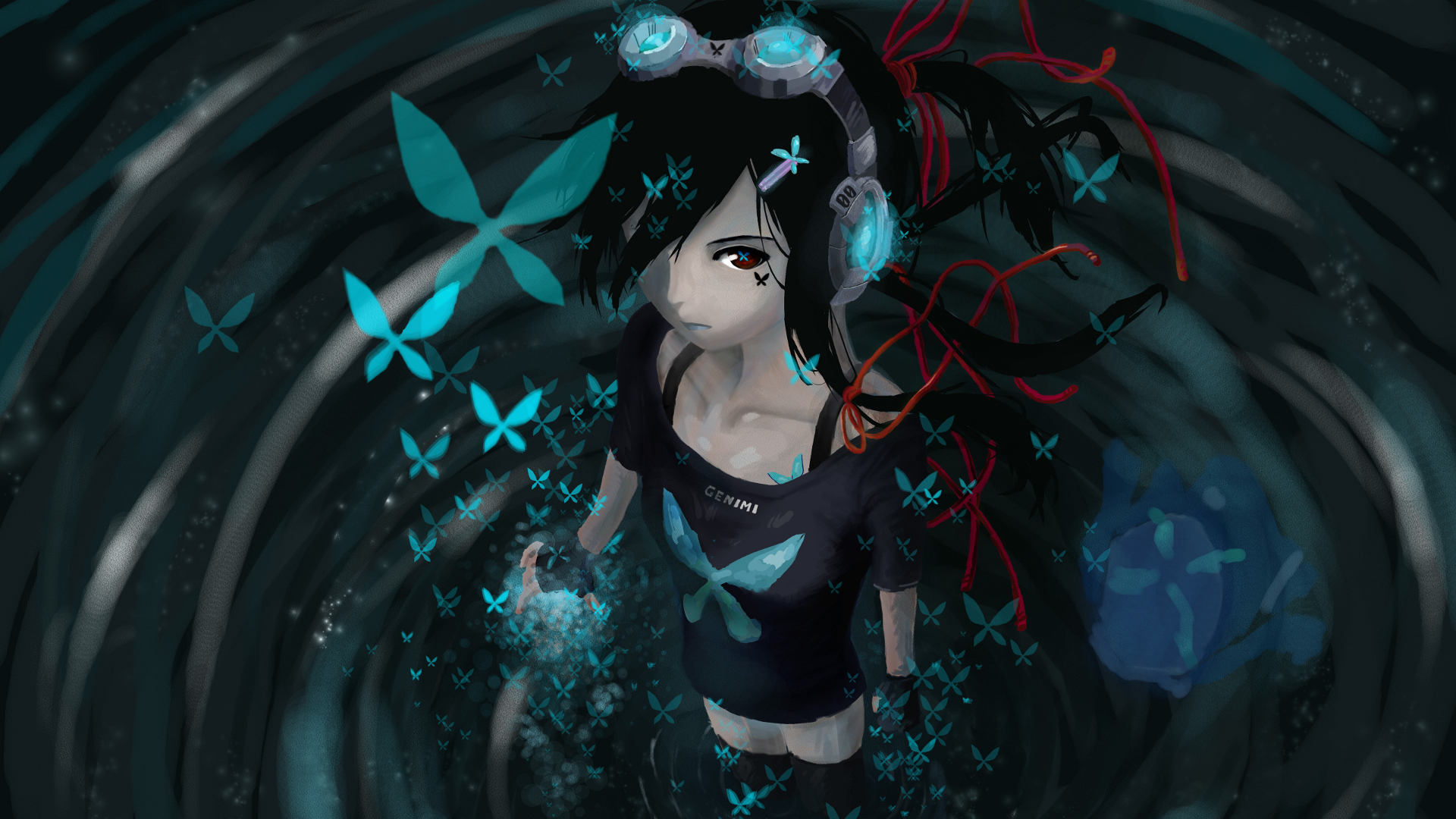1920 x 1080 anime wallpapers wallpapersafari - Anime girl full hd ...