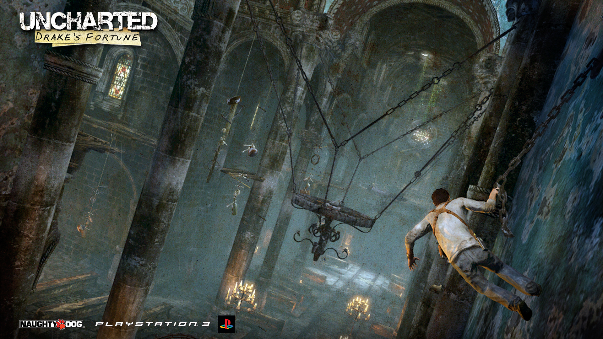 Uncharted   Swinging Wallpapers 1920x1080