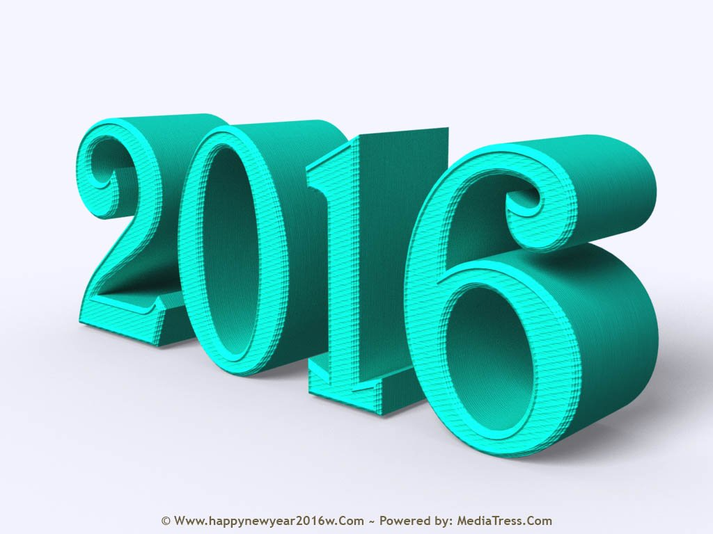 Happy New Year 2016 HD Wallpapers Remarkable Designs 1024x768