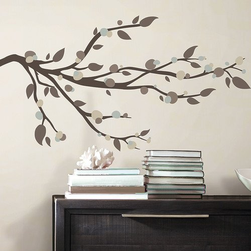 Deco Mod Branch Peel and Stick Wall Decal Set Reviews Wayfair 500x500