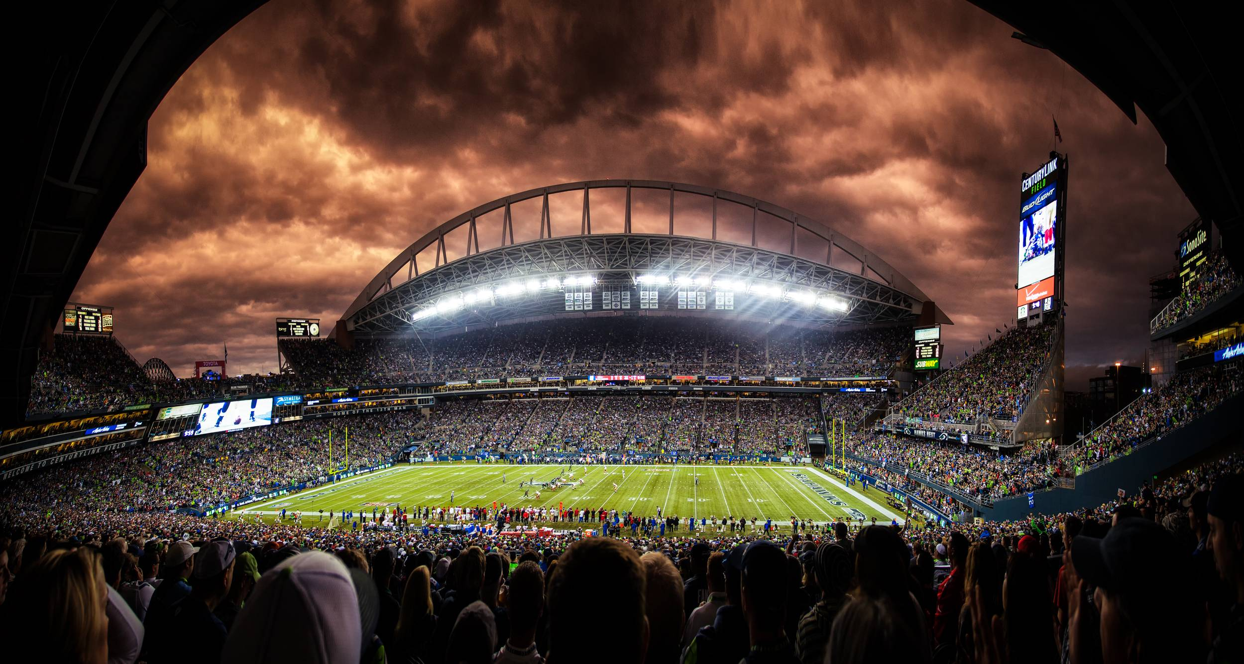Football Stadium Backgrounds 2499x1334