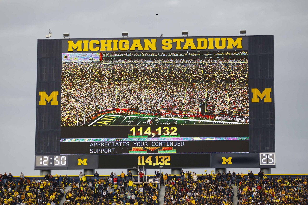 michigan football field wallpaper - photo #24