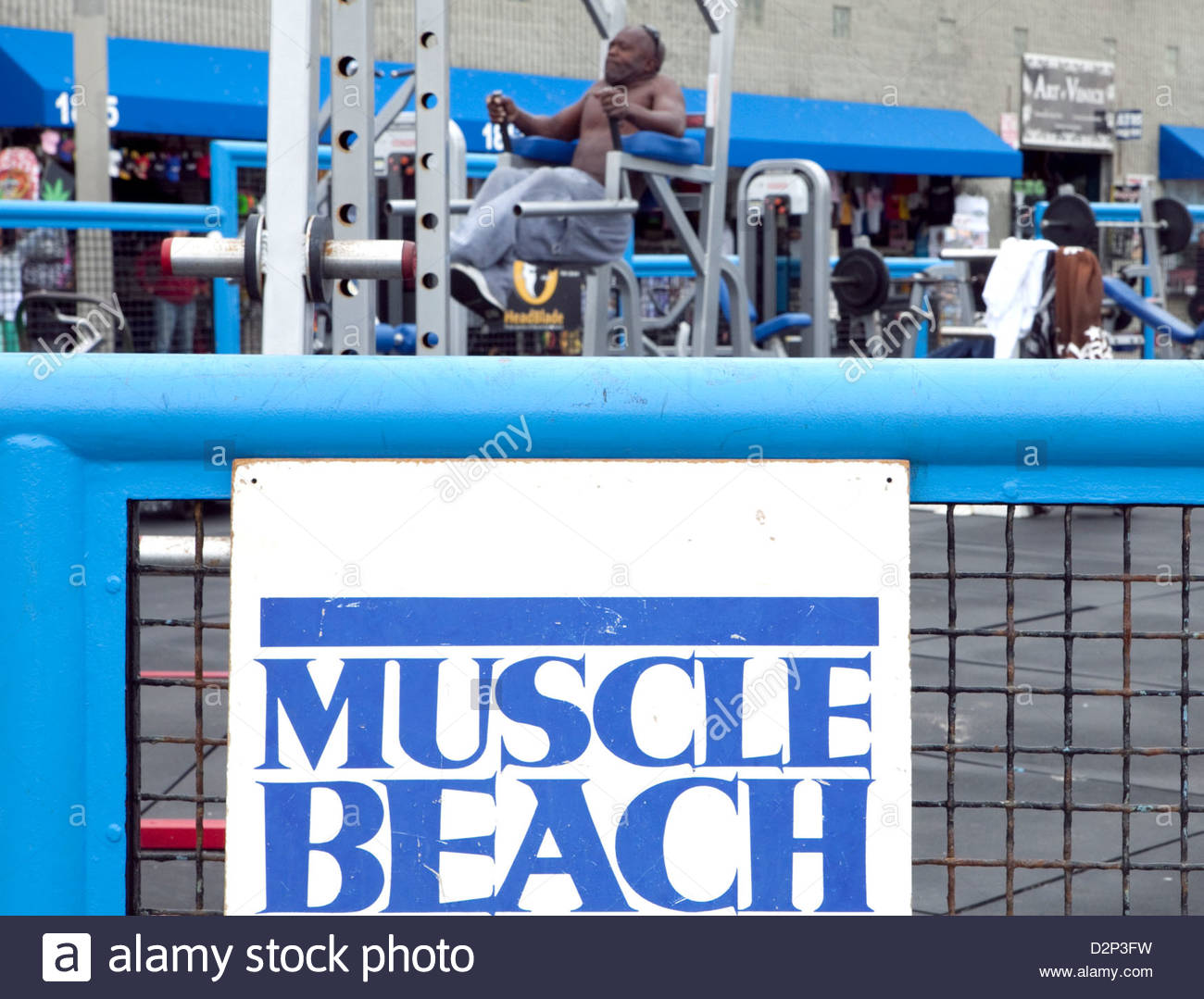 Venice Beach Gym Stock Photos Venice Beach Gym Stock Images   Alamy 1300x1079
