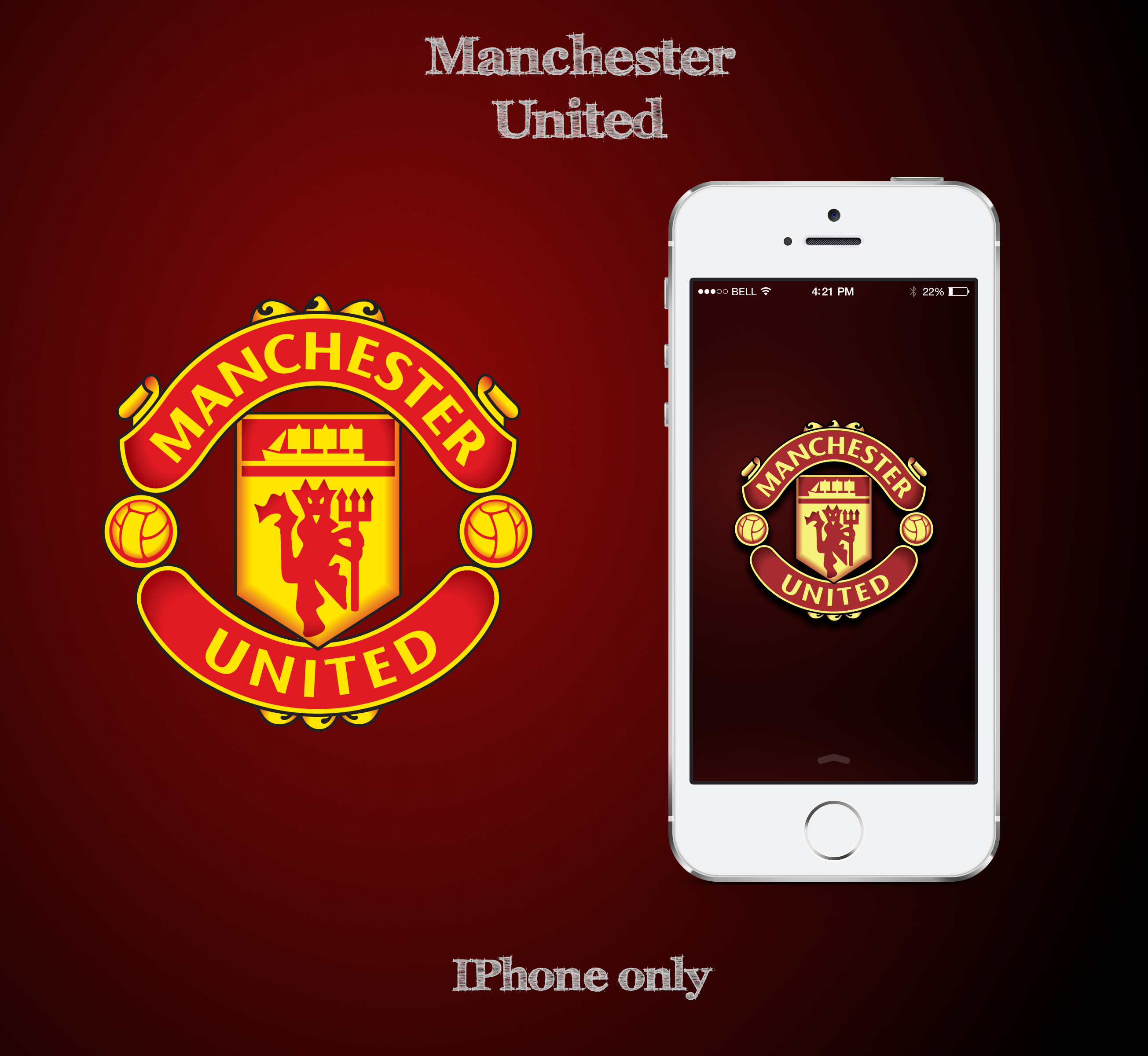 Manchester United Fc Wallpapers for Iphone 7, Iphone 7 ...