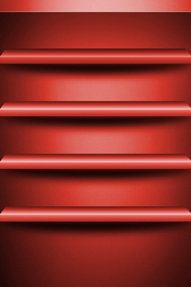 Shelves Wallpaper 640x960