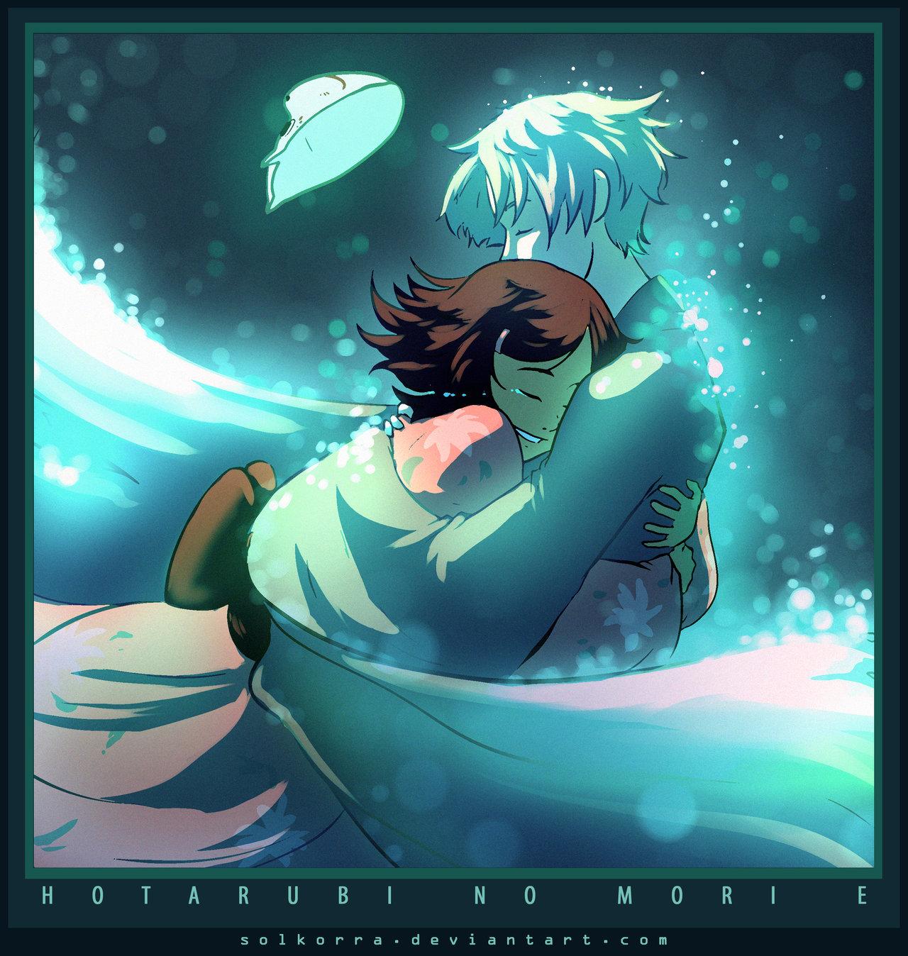 Free Download 054 Hotarubi No Mori E By Solkorra 1280x1348 For