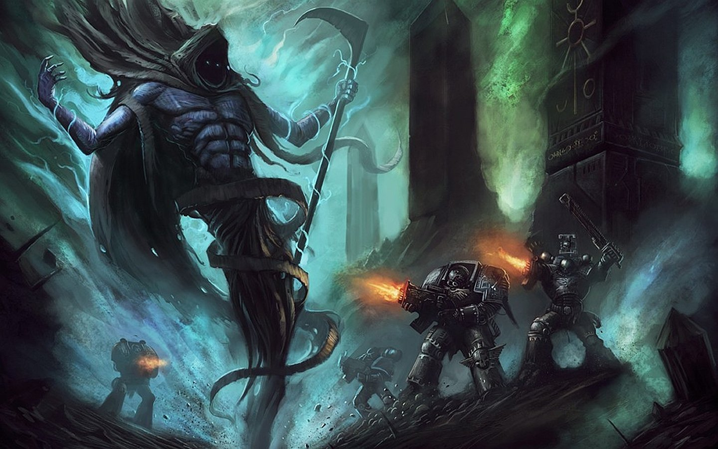 View Warhammer 40K Wallpapers  Background