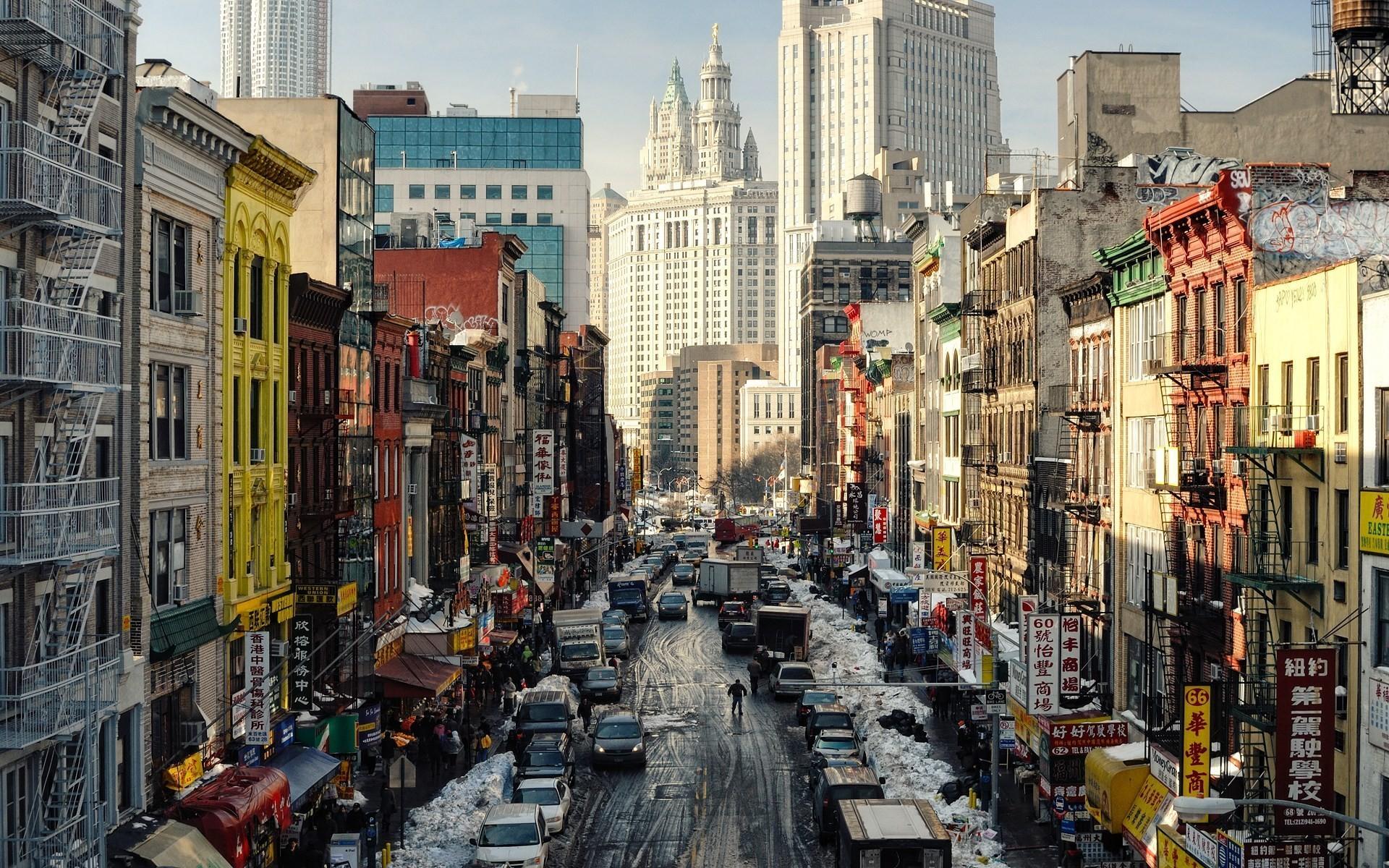 Free Download Fond Ecran New York City Chinatown Winter Wallpaper Hd Telecharger 1920x1200 For Your Desktop Mobile Tablet Explore 48 New York City Winter Wallpaper New York City Winter
