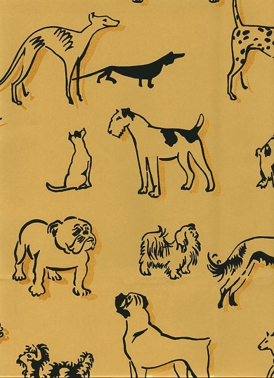 45 Dog Print Wallpaper For Walls On Wallpapersafari