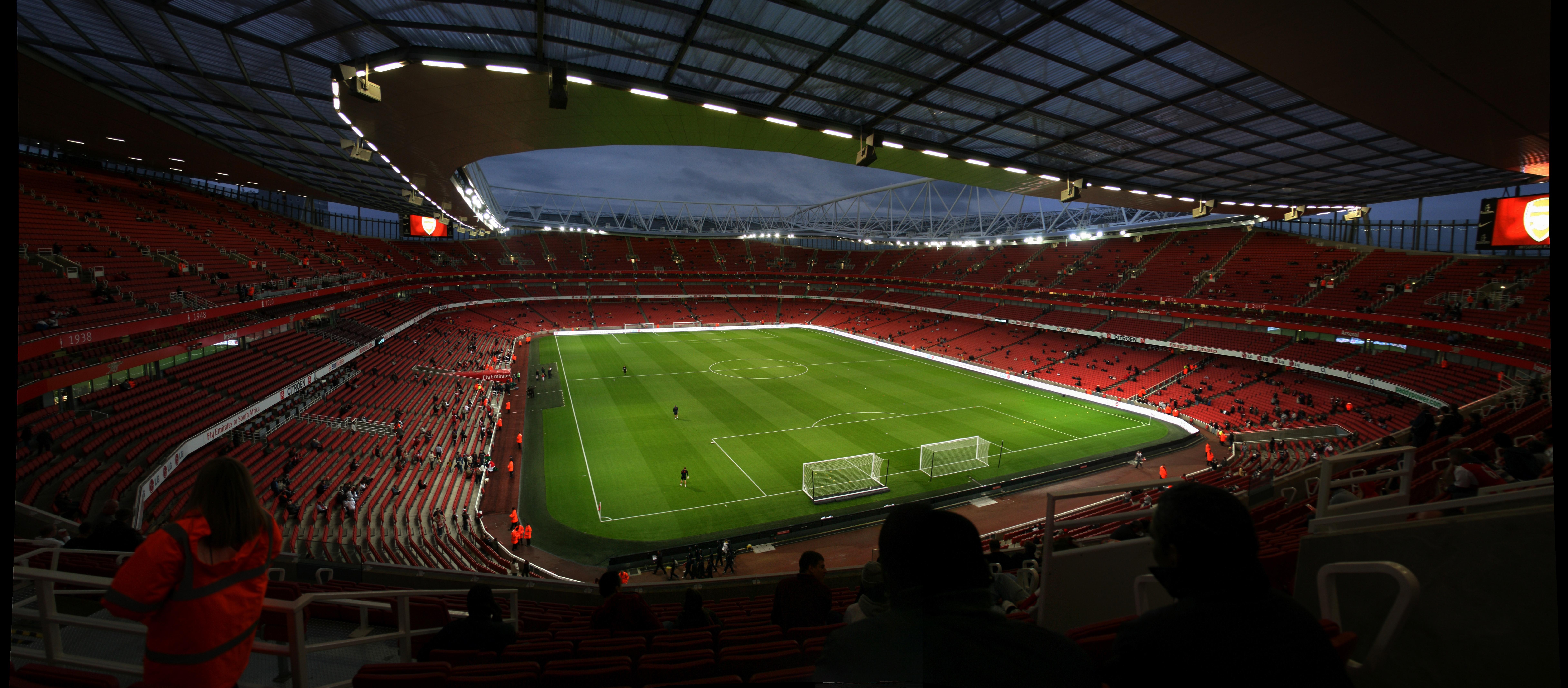 Arsenal Wallpaper Emirates Stadium Emirates stadium hd wallpapers 9734x4271