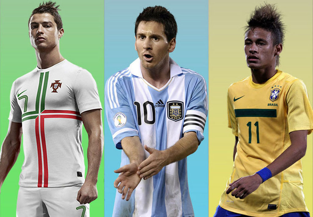 Neymar Messi and Ronaldo are my top references in this World Cup 1024x711