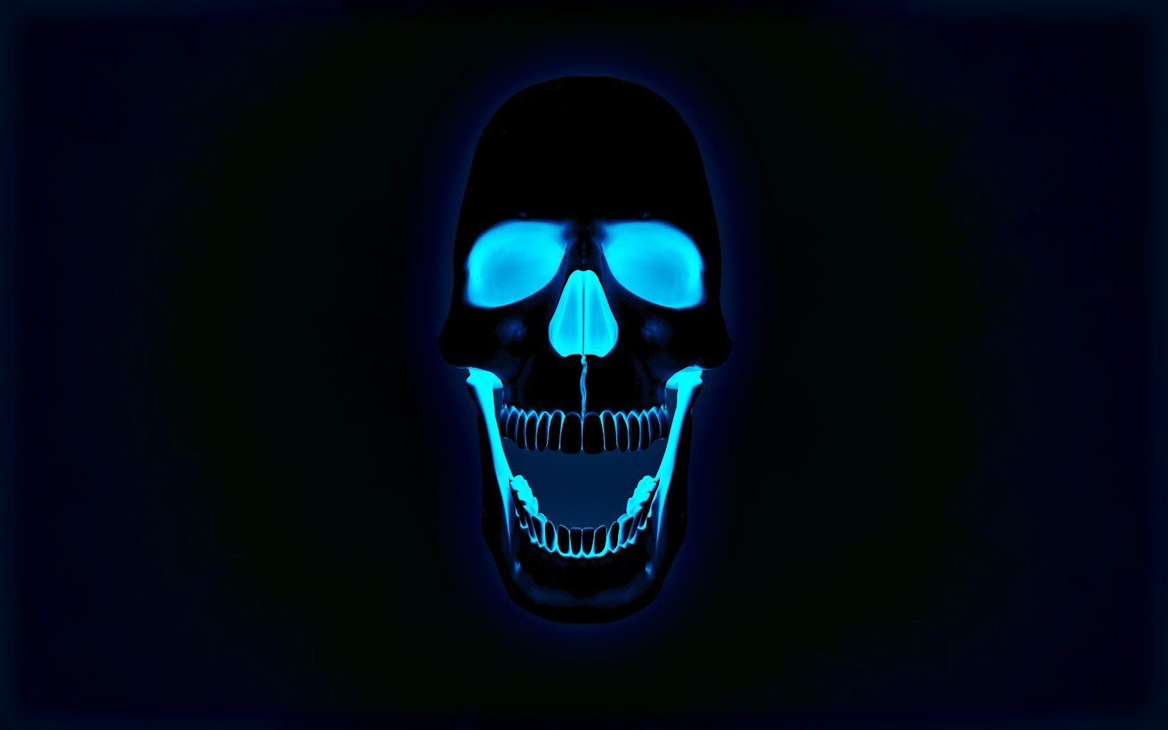 Dark Skull Wallpaper HD 5095 Wallpaper Cool Walldiskpapercom 1680x1050