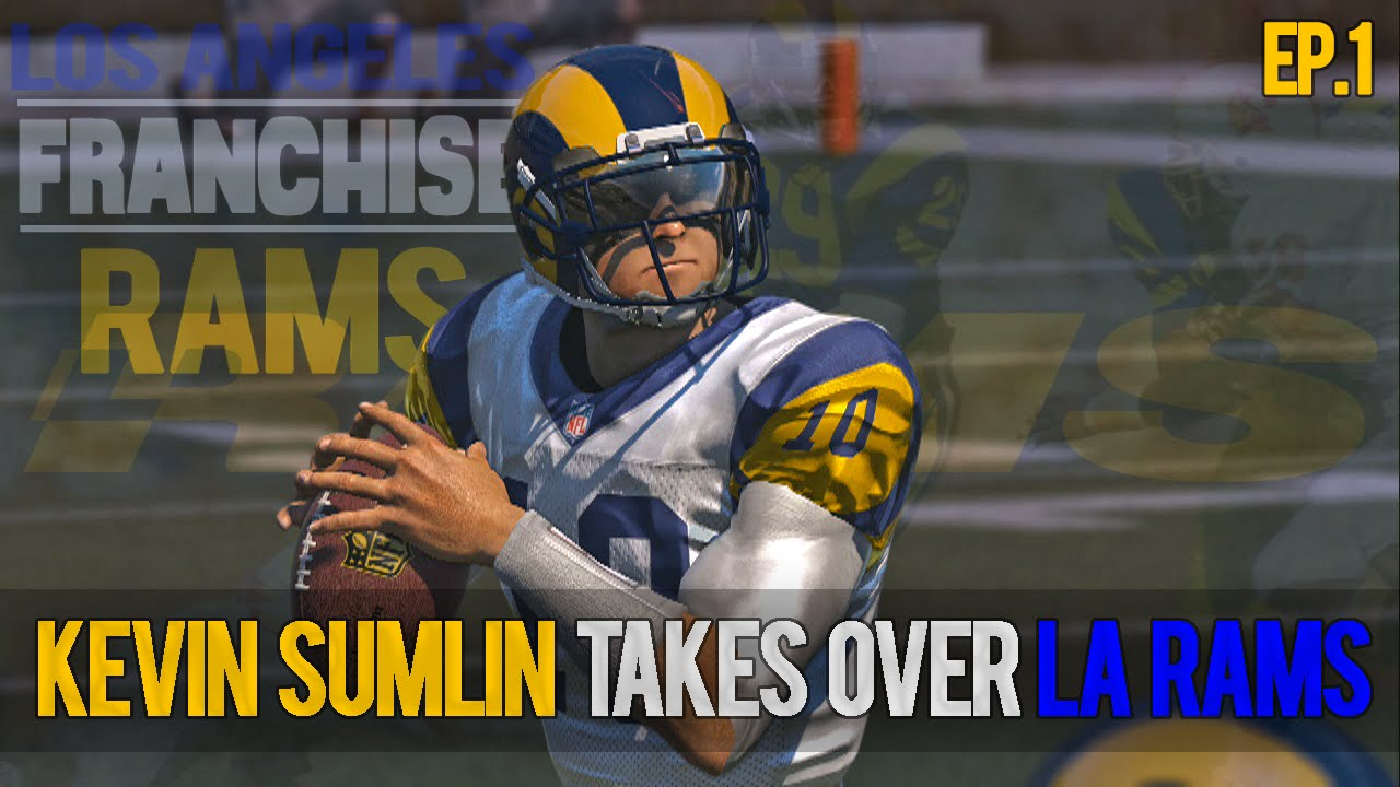 bc5f15481 Madden 15 Franchise Mode Ep1 Los Angeles Rams Rams 1280x720