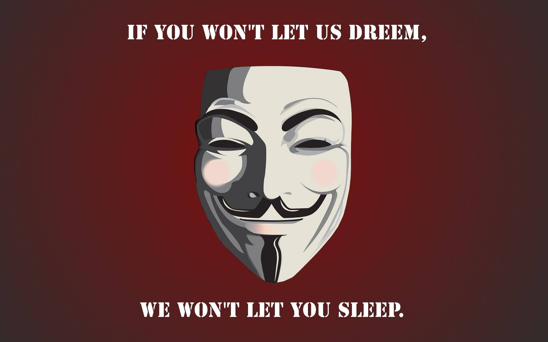 Anonymous Text 19201200 Wallpaper 2175123 1920x1200