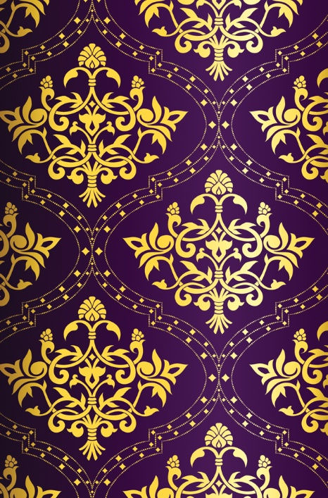 purple and gold pattern more iphone wallpapers pattern wallpaper gold 466x707